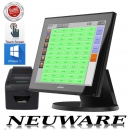 Poslab WavePos ALL IN ONE 15'' Kassensystem Touchkasse für Gastro Restaurant NEU.OVP GOBD / GDPDU Windows 10